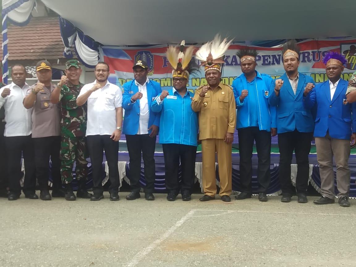 PEMUDA DEKLRASI DAN SERUKAN DAMAI PAPUAKU, DAMAI INDONESIAKU